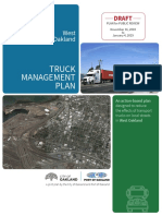 Draft West Oakland Truck Management Plan for Public Review