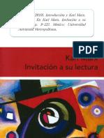 Perez S. Introduccion y Karl Marx Una Vida