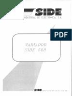 Manual SIDE 508