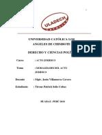 Modalidades Del Acto Juridico_ Actos Juridicos _patrick Solis