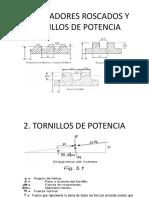 Diapositivas  de Tornillos