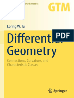 (GTM 275) Loring W. Tu-Differential Geometry_ Connections, Curvature, And Characteristic Classes-Springer (2017)