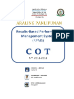 COT Cover Folder by Department