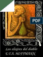 [Valdemar] [Gotica 29] Hoffmann, E. T. a. - Los Elixires Del Diablo