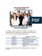 Directrices Del Proyecto Final de Auditoria Financiera 2018-3 J-1