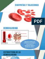 Hemoglobinopatías y Talasemias