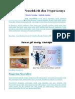 Cara Kerja Piezoelektrik Dan Pengertiannya