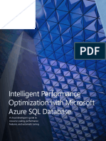 Intelligent Performance Optimization With Microsoft Azure SQL Database