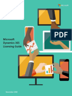 Dynamics 365 Licensing Guide November 2018 - En-US