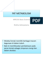Fat Metabolism Rdi