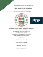 Informe de Casas Abiertas Espoch