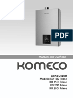 Manual Komeco Linha Digital