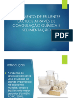 TRATAMENTO DE EFLUENTES LÁCTEOS ATRAVÉS DE COAGULAÇÃO QUÍMICA ESEDIMENTAÇÃO