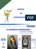 Neumatico Radial vs Convencional