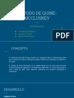 Metodo de Quine McClouskcy