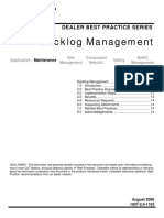 Backlog Management Strategic