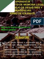 EXPERIENCIA DEL IML PISCO 2007
