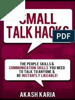 Small Talk Hacks - Akash Karia.epub