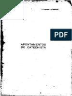 Abbé Quinet - Apontamentos Do Catequista - Notas Pedagógicas - Tomo 2 - Graça & Sacramentos.pdf