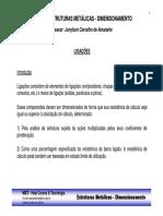 Curso Estruturas Metalicas - Dimensionamento - Introducao sobre Ligacoes.pdf