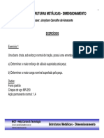 8 - Curso Estruturas Metalicas - Dimensionamento - Exercicios.pdf