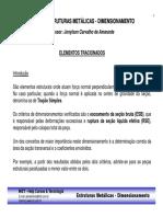 3 - Curso Estruturas Metalicas - Dimensionamento - Elementos Tracionados.pdf