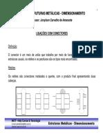 5 - Curso Estruturas Metalicas - Dimensionamento - Ligacoes com Conectores.pdf
