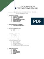 Curso de Inspeção de Caldeiras - Conteudo 2017