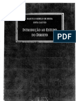 Marcelo Rebelo de Sousa e Sofia Galvao Introducao Ao Estudo Do Direito