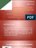 Arquitectura de Von Neumann de Anibal