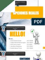 Expocision Opciones Reales