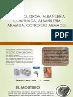 Albañileria Armada y Confinada