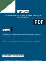 edu 315 p5 top tools