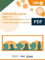 Cuadernillo de Preguntas Saber 11- Sociales Y-ciudadanas