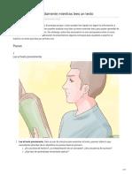 Cómo Aprender Rápidamente Mientras Lees Un Texto