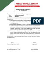 Perjanjian Kontrak Kerja Oka