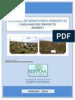 Informe Monitoreo Linea Base Rambo i