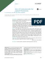 metanalisis de pneumonia  y corticoides