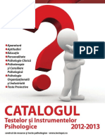 Docdownloader.com Catalogul Testelor Psihologice 2012 2013