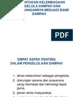 Kelembagaan Sampah Power Point