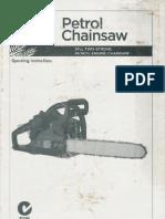 Garden Line Petrol Chainsaw Manual