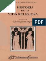 Jesús Alvarez Gómez - Historia De La Vida Religiosa - Volumen 2 - Desde Los Canónigos Regulares Hasta Las Reformas Del Siglo XV.pdf