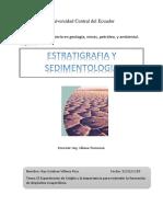 Usiglio y Rocas Evaporiticas Por Ambientes Marino y Continental