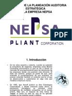 Aplicación de La Planeación Auditoria Estratégica
