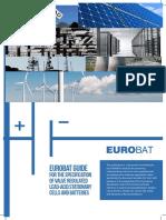 Eurobat Guide on Vrla Hires
