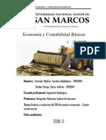 informe construcción economía