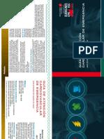 ACLS Manual de Bolsillo GUÍA de ATENCIÓN CARDIOVASCULAR de EMERGENCIA Para Personal Del Equipo de Salud 2005 Booklet