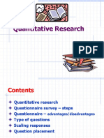 4. Quantitative Research Methodology