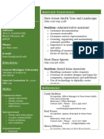 resume for cjobs