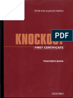 Knockout First Certificate Teacher's Book.pdf